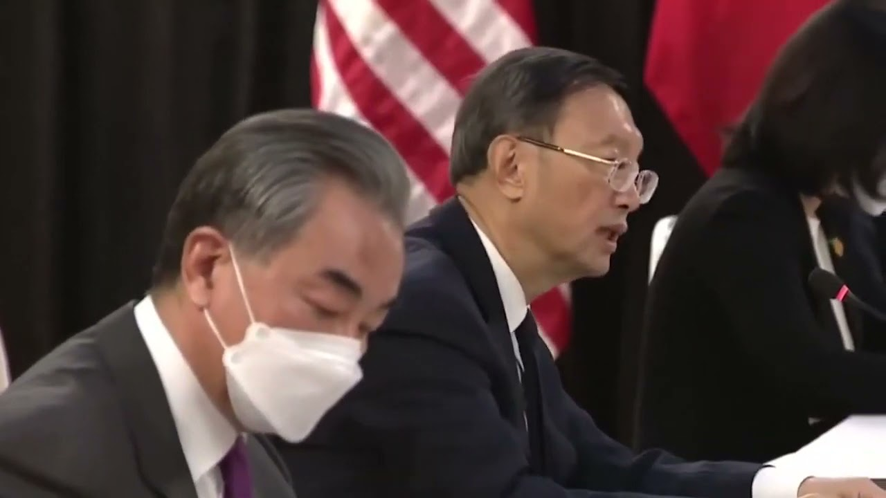 China-US Meeting: Alaska Summit (Full Version Video with the missed last 7 minutes added)