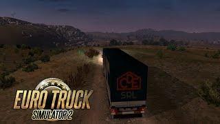 Euro Truck Simulator 2 - Sofrendo no Morro em Palermo DLC Itália Gameplay PT-BR #13