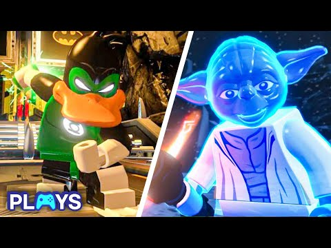 The 10 Best Unlockable Characters In Lego Video Games |