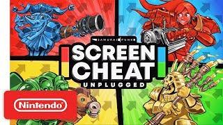 Screencheat: Unplugged - Launch Trailer - Nintendo Switch