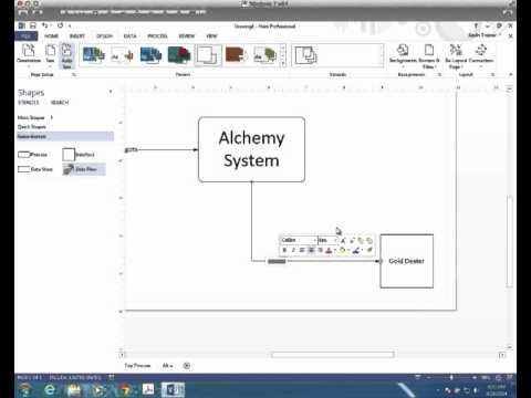 Access youtube tutorial creating a context diagram with visio ccuart Images