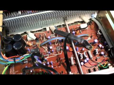 how to connect wire of loudness on nad 3020