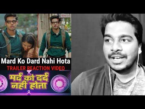 Mard Ko Dard Nahi Hota | Trailer #REACTION Video | Abhimanyu D, Radhika M | Vasan Bala | 21 March |