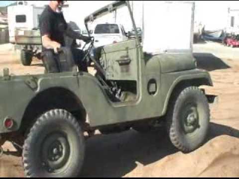 Bud Jeep M38A1 for sale USMC - YouTube