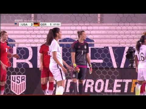 (2) USA vs Germany 3.9.2016