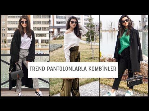 ALIŞVERİŞ   Sezonun En Trend Pantolonlarıyla Kombinler