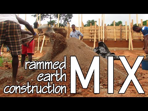 Rammed Earth Construction in Africa – Earth Mix Proportions and Tests