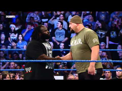 Friday Night SmackDown - After being sucker punched, Big Show brutalizes Mark Henry with a steel chair