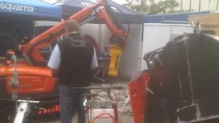 Video Robot demolicion en funcionamiento