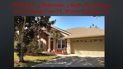 FOR SALE: 4 Bedroom, 3 Bath Pool Home, Winter Springs, FL