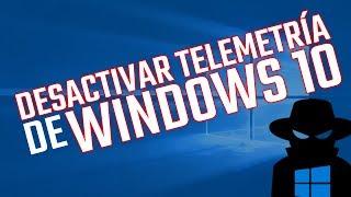 WINDOWS TIPS - Desactivar Telemetría de Windows 10
