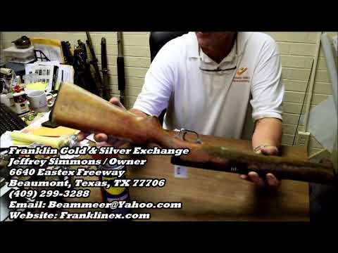 How to clean rusty guns from Franklin Gold & Silver Exchange 9 16 17