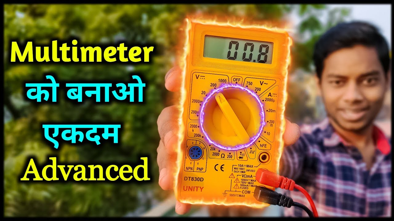 Upgrade Multimeter, How To Add Backlight To A Multimeter At Home, Multimeter