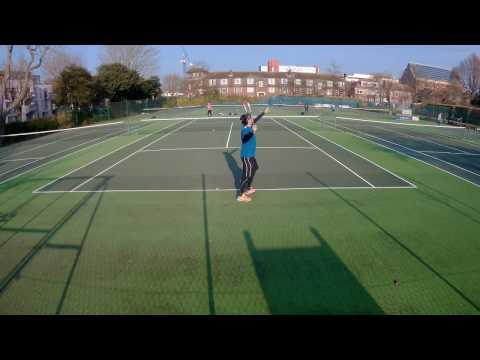 Tennis @ St. Ann's Well Gardens 22/01/2017