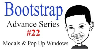 Advance Bootstrap Tutorial With PHP #22: Creating MODALS / POP UP Windows - WOW NICE!