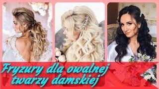 Top 20 🌻 modne fryzury na wesele długie włosy 2019