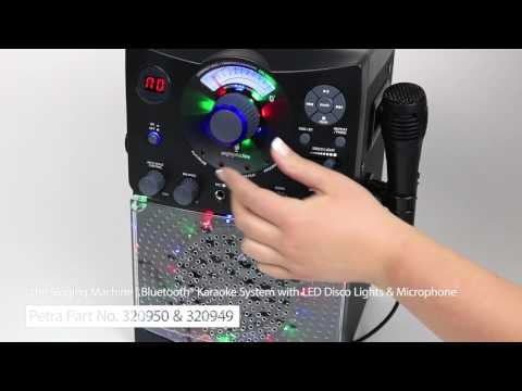 spotlight-on-the-singing-machine's-bluetooth®-cd+g-karaoke-system