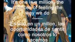 Can I Have This Dance - High School Musical 3 Troy & Gabriella (english - spanish) lyrics
