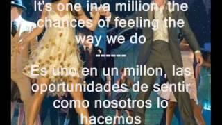Can I Have This Dance - High School Musical 3 Troy & Gabriella (english - spanish) lyrics