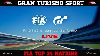GT Sport - FIA Top 24 - Nations & Manufacturer Final