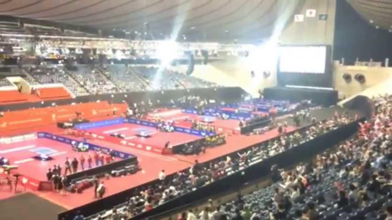 Japantrip 2014 world team table tennis championships in - Table tennis world championship 2014 ...