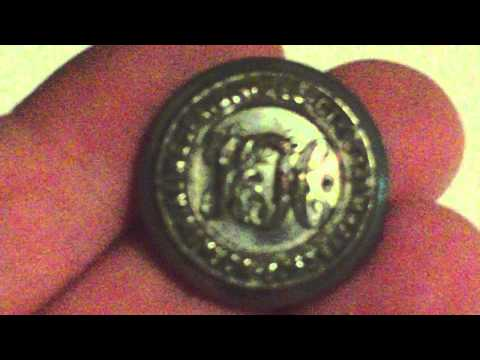 YORKSHIRE (WEST RIDING) ELECTRIC TRAMWAYS CO.LTD. 1906-1932 BUTTON