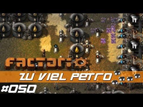 Let's Play Factorio S01 E050 – Was macht man wenn man zu viel hat? – mit Mods - deutsch