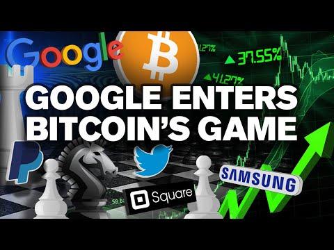 Corporate Game of BITCOIN BEGINS! Google Adopts NEXT!?
