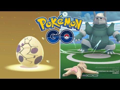 ECLOSIONA Y PELEA #02! GANANDO AL MEJOR DEFENSOR DEL JUEGO! [Pokémon GO-davidpetit] thumbnail
