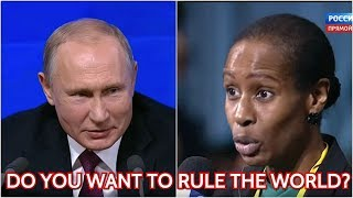 Putin On Whether He Wants To Rule The World: We All Know Very Well Who Seeks To Rule The World Please Click On YouTube Notification Bell Next To Subscribe Button To Be Notified Of New Russia Insight Videos! Russia does not aim to rule the world, and ..., From YouTubeVideos