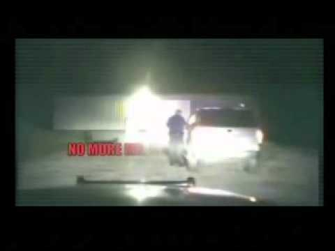 Cop Loses It When Denied To Search Without A Warrant.wmv
