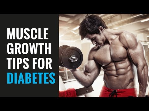 MUSCLE BUILDING TIPS FOR DIABETES
