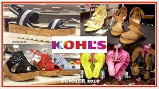 #KOHLS SHOP WITH ME #Summer2019 SHOES and SANDALS I Simply Vera, Skechers, Clarks