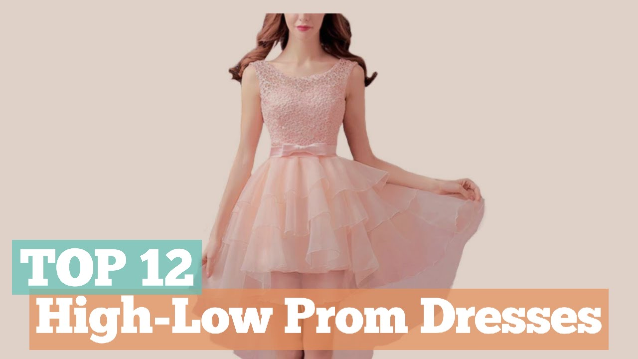 Top 12 High-Low Prom Dresses // Because Of You Collection - YouTube