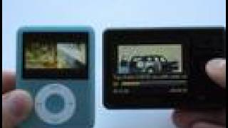 Creative ZEN Vs. iPod Nano 3rd gen. Part 2