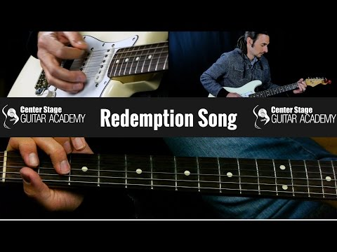 How To Play Redemption Song by Bob Marley On Guitar | Chords
