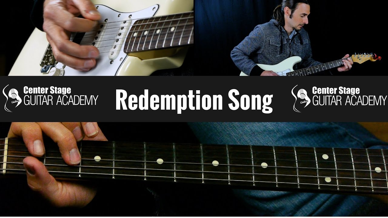 How To Play Redemption Song By Bob Marley On Guitar Chords Youtube