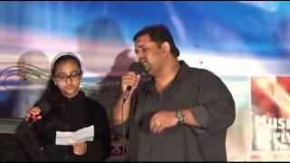 ANJANA J.B with Manas Menon Aadyamai Kandanaal