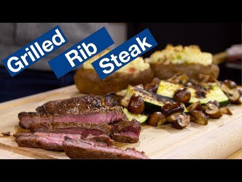 Rib Steak On The Otto Wilde OFB Grill || Le Gourmet TV Recipes