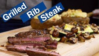🔵 Rib Steak On The Otto Wilde OFB Grill Recipe || Glen & Friends Cooking