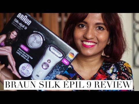 Braun Silk Epil 9 Skin Spa Epilator / Exfoliator Demo + Review // Magali Vaz