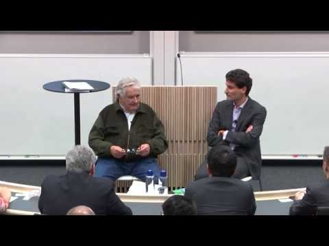 Discussion with Pepe Mujica, former President of Uruguay (English)