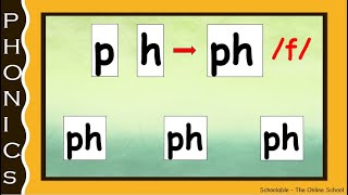 Consonant Digraph 'Ph' Words_Step by Step learning_Easy phonics_Early reading-L#6