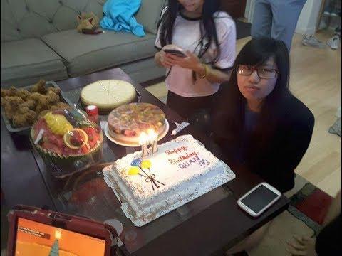 Sinh nhật bé Anh Quân - New York / Quân's 17th birthday