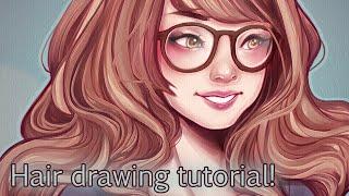 Tutorial; Drawing Hair!
