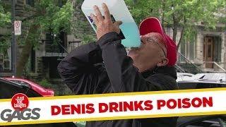 Poison Drinking Prank
