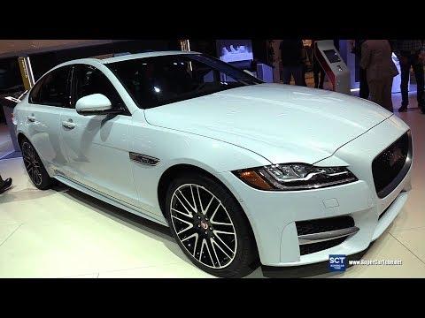 2018 Jaguar XF R Sport - Exterior and Interior Walkaround - 2017 LA Auto Show