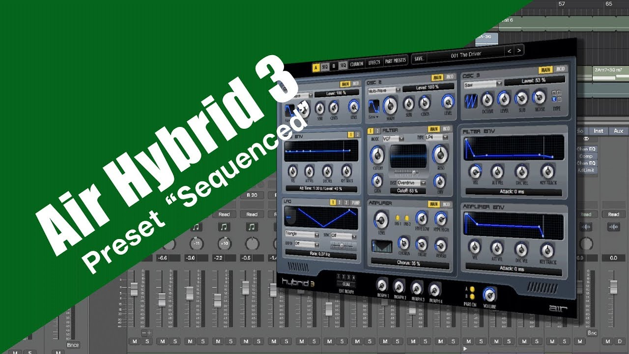 Air Hybrid 3 Presets Sound Sequenced