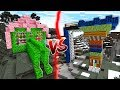 Download LEAF HOUSE VS WOOD HOUSE IN MINECRAFT!