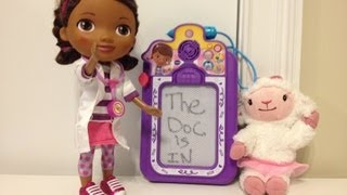 Doc McStuffins Talk and Trace Clipboard Review